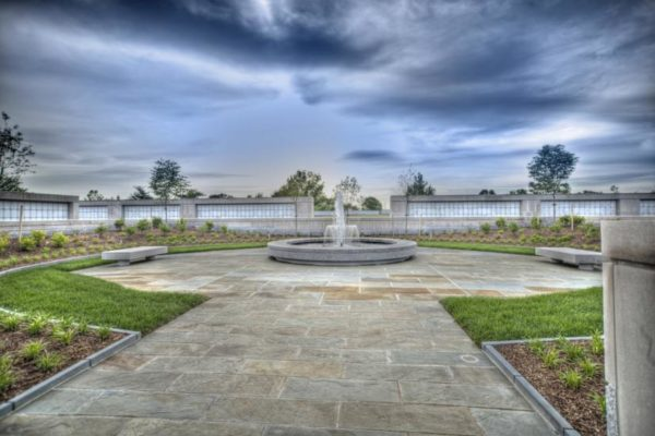 Columbarium Court No. 9 (photo courtesy Forrester Construction)