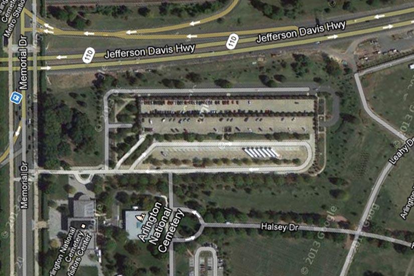 arlington national cemetery map pdf