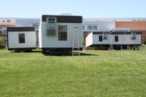 New trailer classrooms at Washington-Lee High School