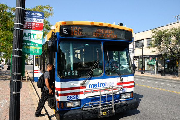 16G Metrobus (photo courtesy WMATA)