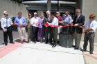 Ribbon cutting ceremony for S. Joyce Street renovations