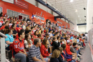 Capitals Development Camp Fan Fest at Kettler Iceplex in Ballston