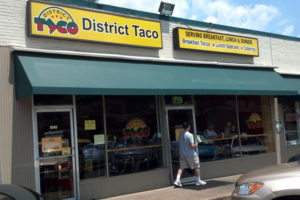 District Taco on Lee Highway