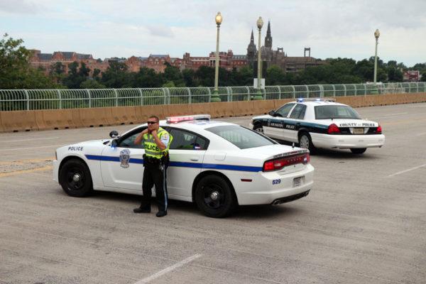 Key Bridge closed for bomb threat