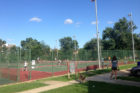 Towers Park tennis courts