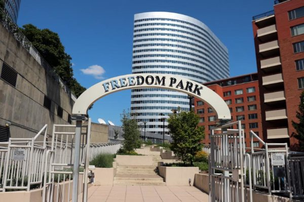 Freedom Park in Rosslyn