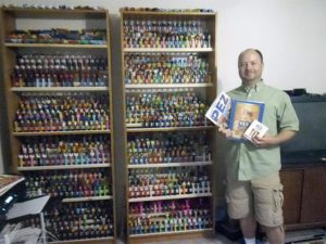 Mandrake Summers and his Pez collection