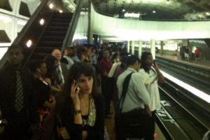 Major delays on the Orange Line on 7/10/13 (photo courtesy @afranz409)