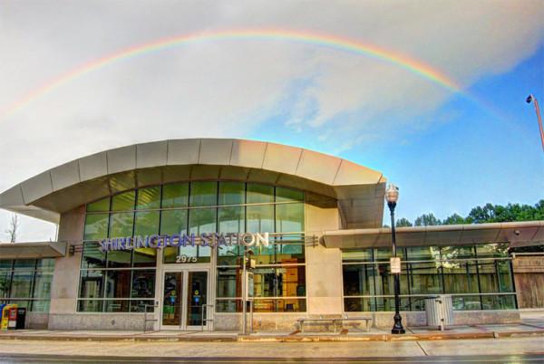 Shirlington Rainbow (Flickr pool photo by Christopher Skillman)