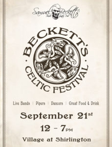 Becketts Celtic Festival poster