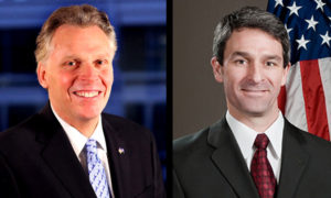 Terry McAuliffe and Ken Cuccinelli