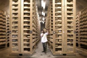 Jasper Hill cheese caves