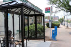 Columbia Pike and S. Barton bus shelter