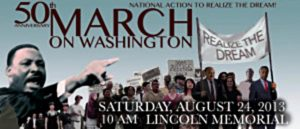 March on Washington graphic