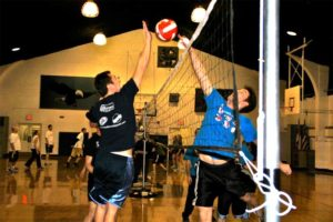 United Social Sports indoor volleyball