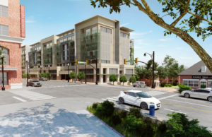 Rendering of initial plan for 2400 Columbia Pike development