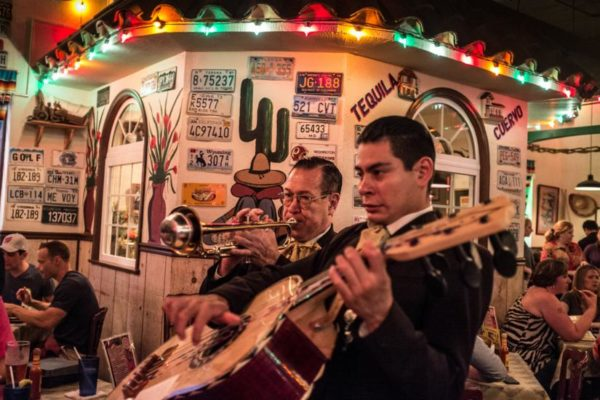 Mariachi band at El Paso Cafe (photo courtesy ddimick)