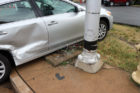 Crash takes out signal at Washington Blvd and N. Kirkwood Road