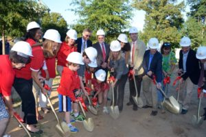 Ashlawn Elementary School addition groundbreaking ceremony (photo courtesy APS)
