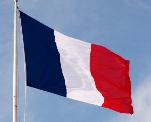 France flag (photo by wox-globe-trotter via Wikipedia)