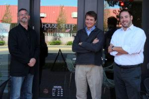 Giftrocker's Michael Scruggs, left, Alex Robertson, center and Michael Rosen
