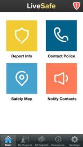 LiveSafe homepage