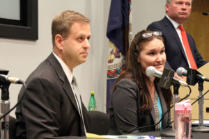 Del. Patrick Hope (D-47) and Laura Delhomme