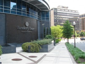 Turnberry Tower landscaping