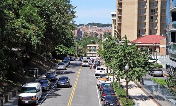 View of N. Nash Street in Rosslyn