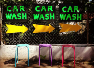 Car wash signs (Flickr pool photo by Christaki)