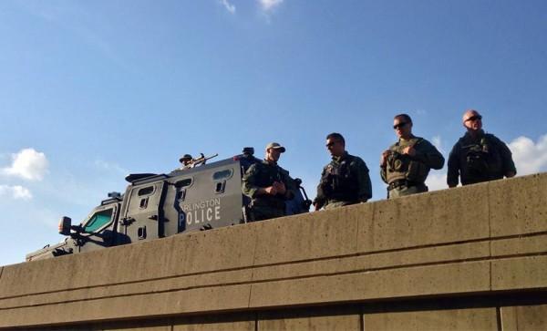 Security at Saturday's 9/11 Memorial 5K race