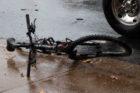 Bicyclist struck on Rt. 50