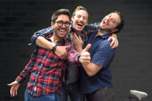 CollegeHumor's Amir Blumenfeld, Jake Hurwitz and Streeter Seidell