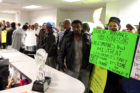 Arlington taxi drivers occupy County Board office