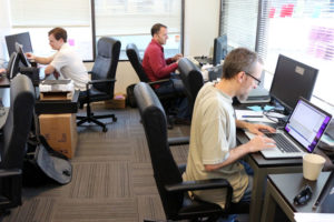 The Gusto team in its Rosslyn office
