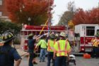 Construction worker rescued after fall in Ballston 10/31/13