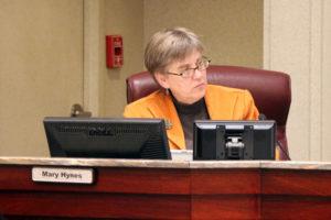 County Board member Mary Hynes
