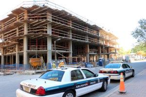 Virginia Square construction fall