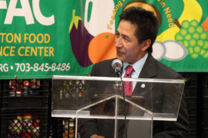 County Board Chairman Walter Tejada