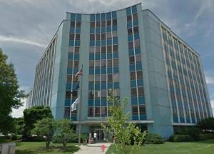 """""""Blue Goose"""" building in Ballston (photo courtesy Preservation Arlington)"""