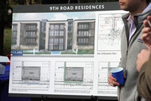 Neighborhood meeting about the 9th Road Residences development