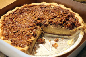 Acme Pie Co.'s Pecan Maple Syrup with Belgian Chocolate pie