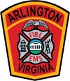 Arlington County Fire Department Badge