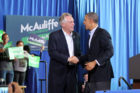President Obama and Terry McAuliffe
