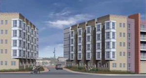 Rendering of the new, proposed Berkeley Apartments