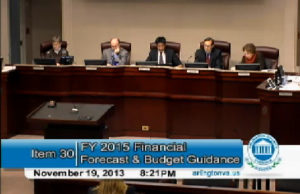 County Board discusses FY 2015 budget on 11/19/13
