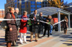Ribbon cutting for Clarendon Central Park