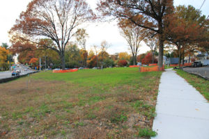Lacey Lane subdivision site