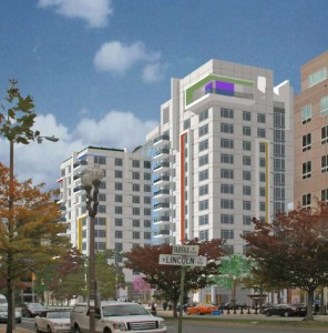 Latitude Apartments rendering
