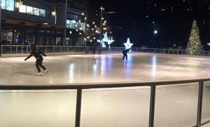 Pentagon Row ice rink